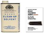 Epoxy Clean-up Solvent and Epoxy Coloring Agent