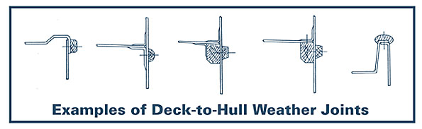 Deck/Hull Joints