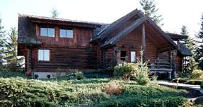 log house image