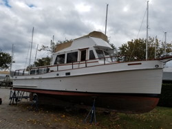 Overall picture of Grand Banks 36'