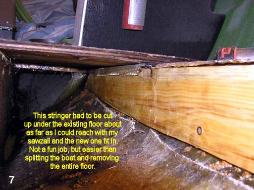 Composite Boat Stringers : Wood preservation rot repair and restoration using epoxy