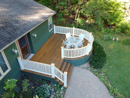 Deck repair complete!