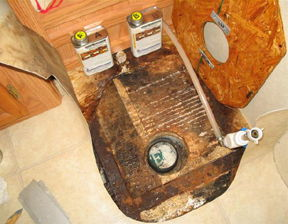Wood preservation, rot repair, and restoration using epoxy resin on