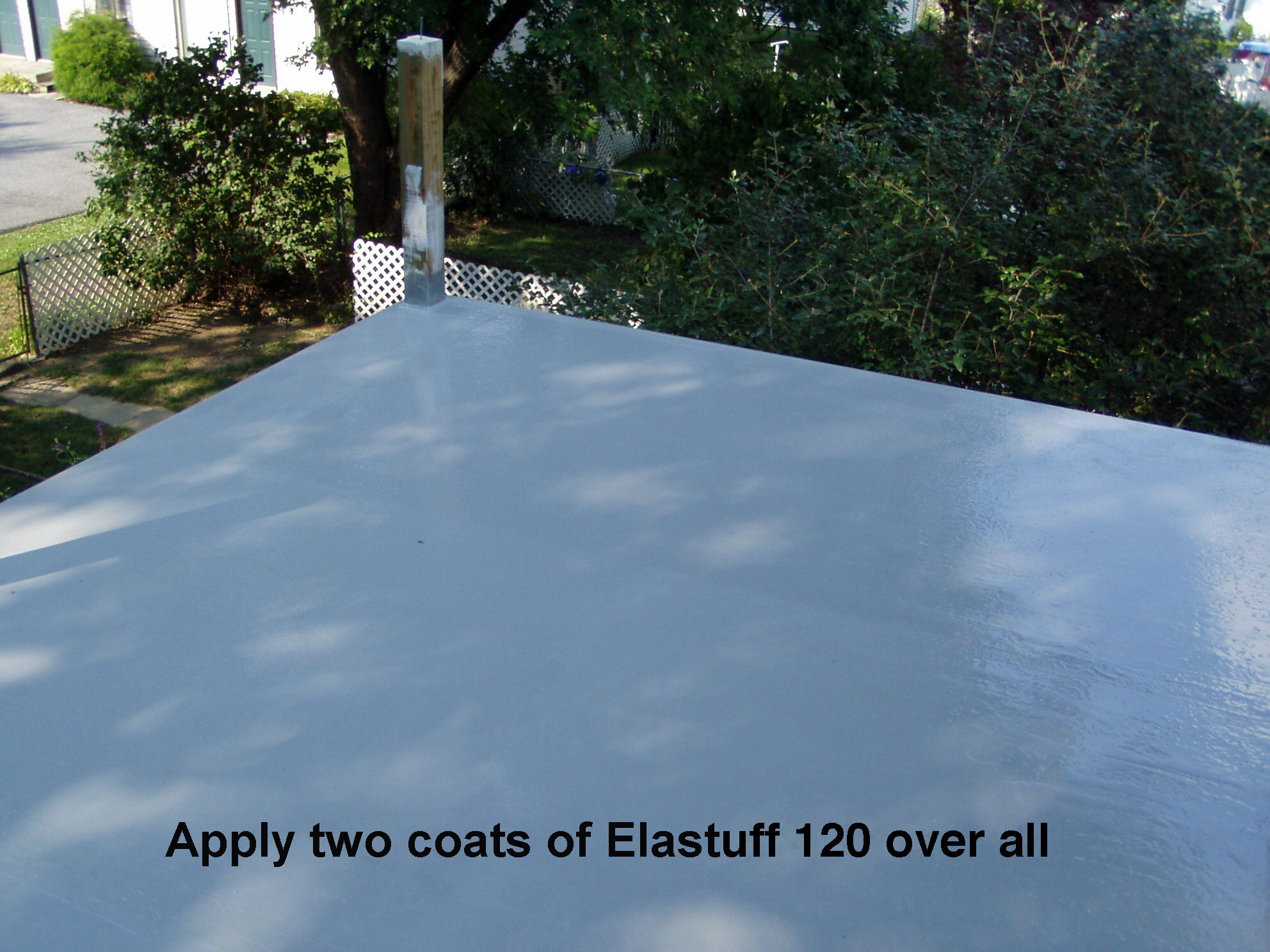 2 coats of Elastuff 120