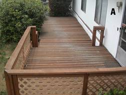 wood deck repair rot doctorwood based epoxy products to repair and resist wood rot